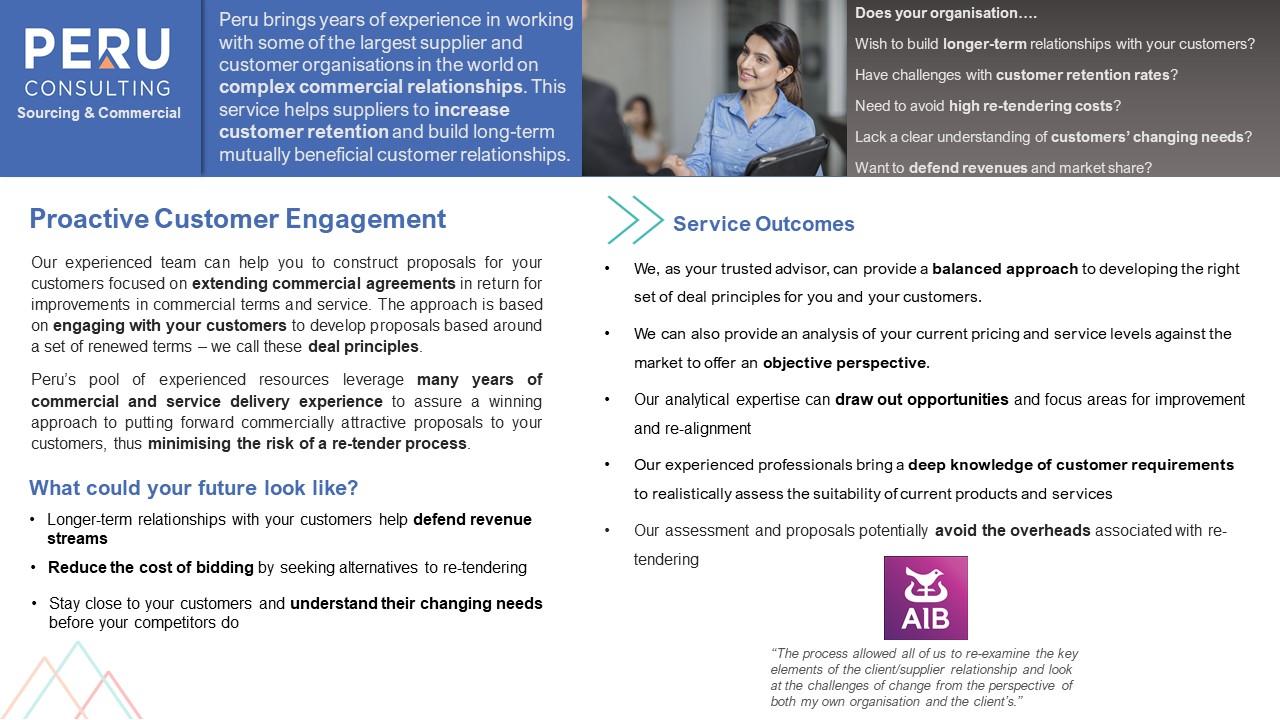 Proactive Customer Engagement