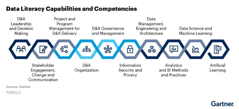 Data Literacy Capabilities and Competencies